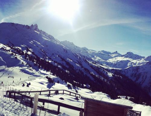 Het Skigebied van Vercorin